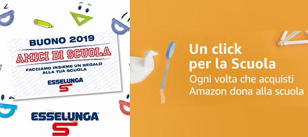 Esselunga e Amazon per la nostra scuola!